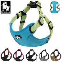 Reflective Padded Step In Nylon dog harness.