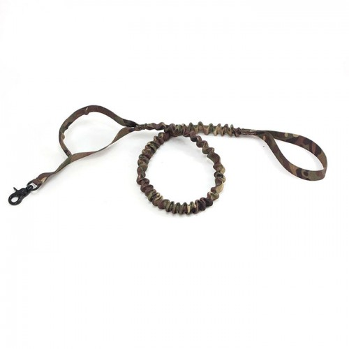 twin handle camo bungee dog leash